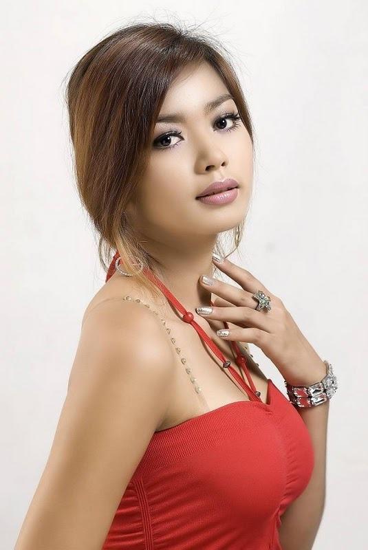 Myanmar model nude Nude Photos